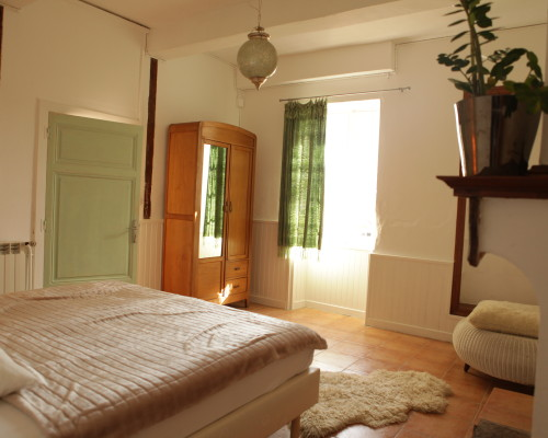 Masterbedroom in the Gîte